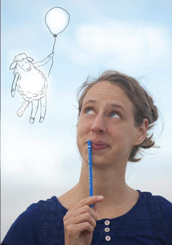 Franziska Scherrers Illustration München Schafe