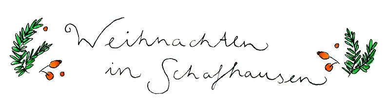 Weihnachten Handschrift